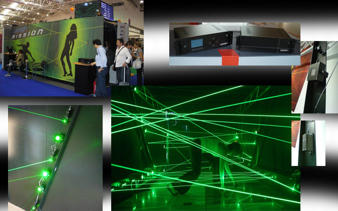 Laserlight Mission - The Laser Maze made in Germany